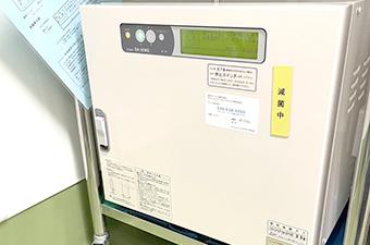 イオジェルク SA-H160 (カートリッジ方式全自動酸化 エチレンガス滅菌器)