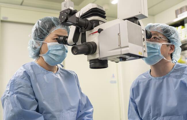 当院の眼瞼下垂手術の特徴